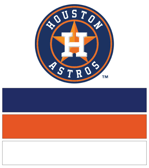 Houston Astros Baseball Nail Art Ideas Designs Spirit Wear Nail
