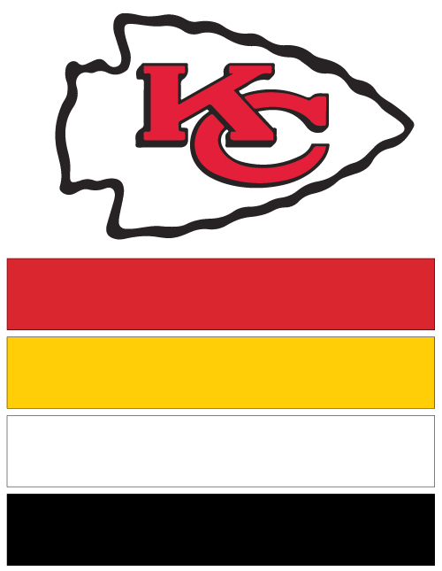 Kansas City Chiefs Football Nail Art Ideas & Designs | Spirit Wear ...