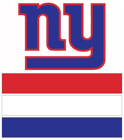 New York Giants Football Nail Art Ideas Designs Spirit Wear Nail