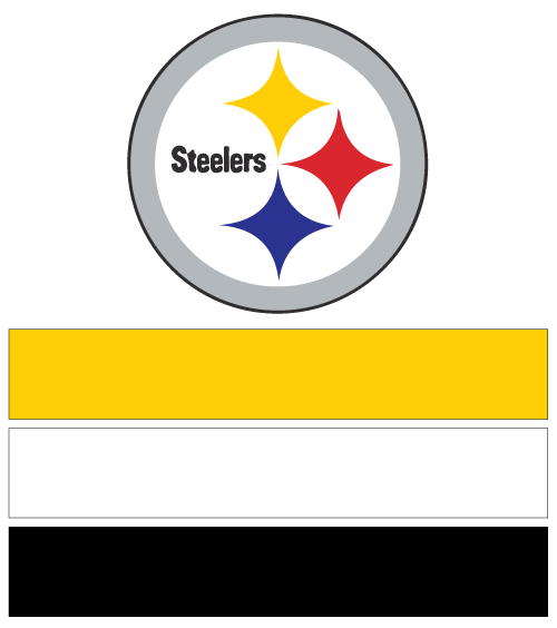 Pittsburgh Steelers Official Logo Colors Awesome Graphic Library