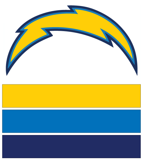 Los Angeles Chargers Football Nail Art Ideas Amp Designs