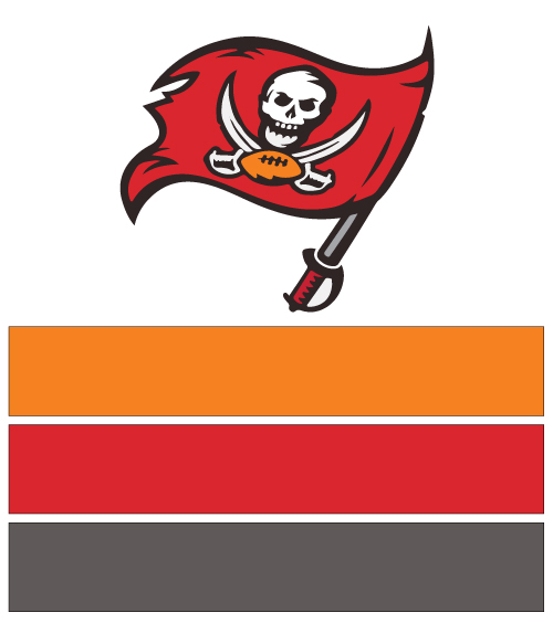 Tampa Bay Buccaneers Football Nail Art Ideas   Designs  fde01a7e319