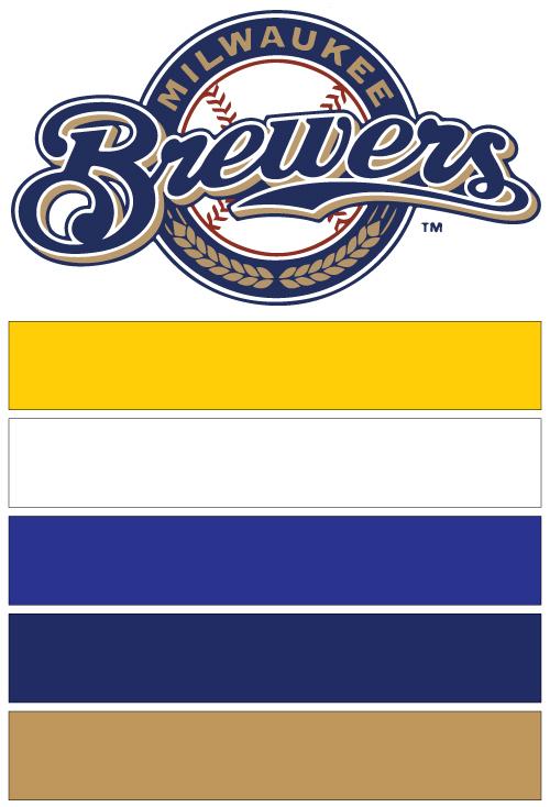 Milwaukee Brewers Baseball Nail Art Ideas Amp Designs Spirit Wear Nail Wraps