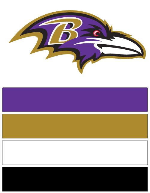 detailed look 4accc a22fd Baltimore Ravens Football Nail Art Ideas & Designs | Spirit ...
