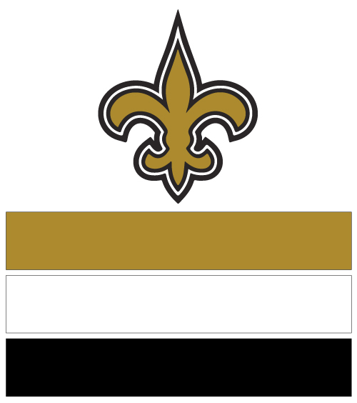 New Orleans Saints Football Nail Art Ideas Amp Designs Spirit Wear Nail Wraps