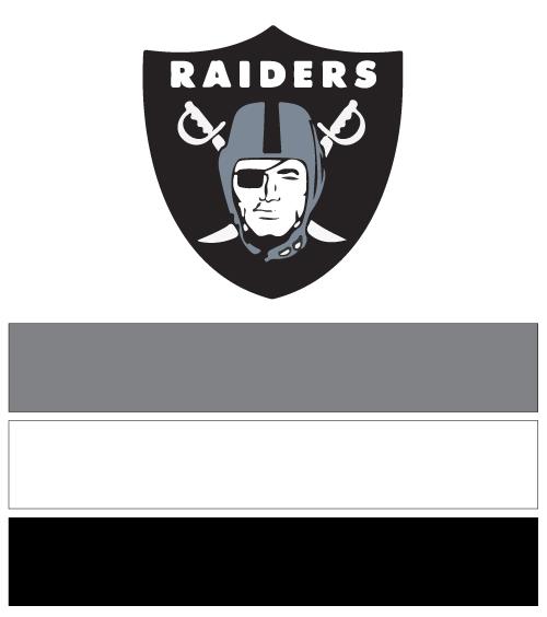 Oakland Raiders Football Nail Art Ideas Amp Designs Spirit Wear Nail Wraps